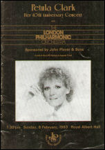 Brochure cover for 40th Anniversary Concert