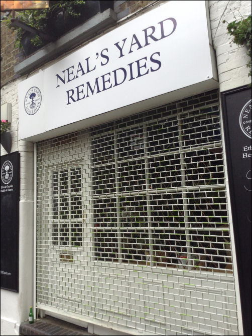 Neal's Yard Remedies (previously the 1985 home of Redwood Studios)