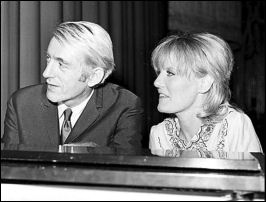Rod Mckuen and Petula Clark