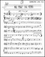 All Through The Years production sheet music