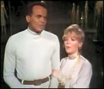 Harry Belafonte and Petula Clark