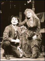 Lewis Rae (as Andy) with Petula Clark (as Abigail) in the touring production of Someone Like You performing Here We Are
