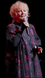 Petula in concert in 2013 performing Meant To Be