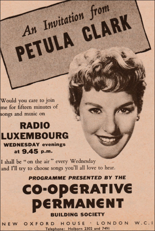 1952 Newspaper Advert