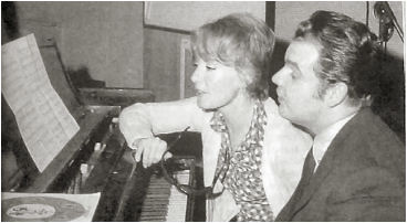Petula Clark and Tony Hatch